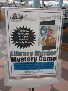 Getting a Clue at the Library   ALSC Blog