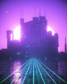 """retrowave-vr: """"Artist: @rabbit.hole_renders Title: Gateway Visit this artist profile for more amazing work! . /////////////////////////////////////////////////////////////////////// . By using the hashtag #retrowavevr your design would be featured on..."""