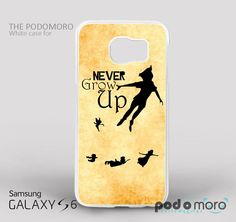 Disney Peter Pan Quote for iPhone 4/4S, iPhone 5/5S, iPhone 5c, iPhone 6, iPhone 6 Plus, iPod 4, iPod 5, Samsung Galaxy S3, Galaxy S4, Galaxy S5, Galaxy S6, Samsung Galaxy Note 3, Galaxy Note 4, Phone Case