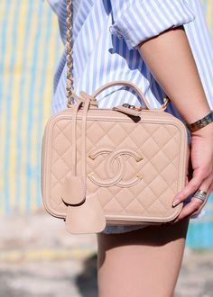 edabbb1de1a0 Chanel Filagree Vanity Case Bag Chanel Vanity Case, Chanel Handbags,  Fashion Handbags, Fashion