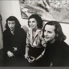 #Gracehartigan, #Joanmitchell #HelenFrankenthaler #1957