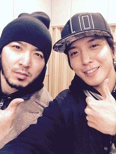 JungYongHwa y Jintae  Update Twitter @JYHeffect