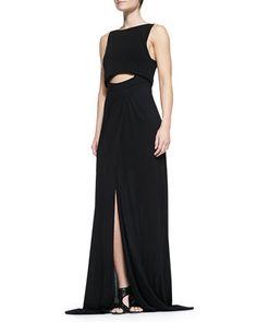 Hillseth Long Peekaboo Dress by A.L.C. at Neiman Marcus.