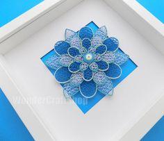 Floral Art Home Decor Wall Art Artificial by WonderCraftShop