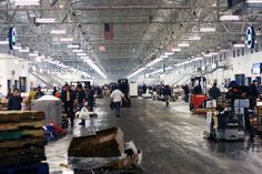 New Fulton Fish Market at Hunt's Point, NYC