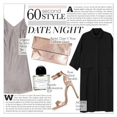 """60-Second Style: Last Minute Date"" by martso ❤ liked on Polyvore featuring mode, Monki, River Island, Clare V., Byredo, women's clothing, women, female, woman et misses"