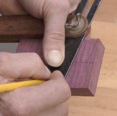 Butterfly Key Joinery - Part II / Rockler How-to | As the series continues learn more about butterfly key joinery.
