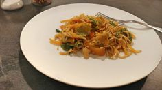 Asiatische Mie Nudeln mit Gemüse Spaghetti, Post, Ethnic Recipes, Veg Noodles Recipe, Pasta With Vegetables, Pasta Soup, Vegetarian Main Dishes, Noodle