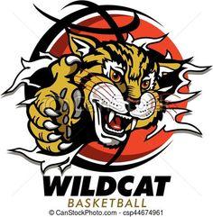 wildcat clipart free wildcat image vector clip art online rh pinterest com wildcat clipart free uk wildcats clipart