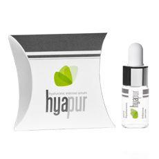 hyapur®   Das hyapur®-Serum ist ein hochkonzentriertes, kristallklares Serum aus purer Hyaluronsäure mit feinsten Silberpartikeln.