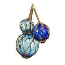 Bouyant Glass Floats - Set of 3