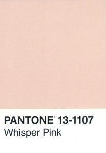 Pantone 13-1107 Whisper Pink #wedding #gamos