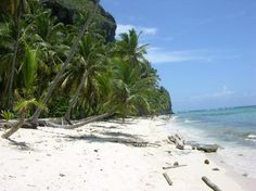 Playa Fronton - Secluded beach near Las Galeras, Samana Peninsula Dominican Republic