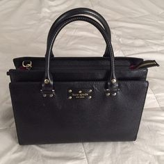 *BRAND NEW* Kate Spade Wellesley Durham Black Tote She'll: 100% Cow Leather/ 9in tall kate spade Bags Totes