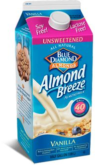 Almond Breeze - favorite milk alternative