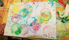 Creativní blog: Malování bublinami...