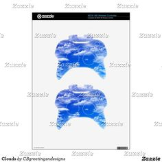 Clouds Xbox 360 Controller Decal