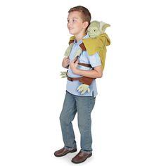 The Yoda Backpack - Hammacher Schlemmer
