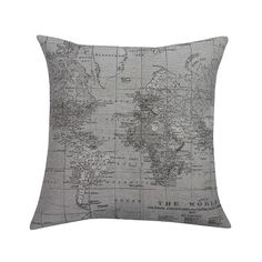 Found it at AllModern - Blarwood Map Feathered Throw Pillow