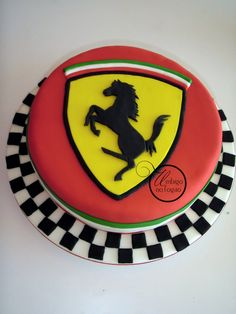 Super ideas cars cake for men ferrari Car Cakes For Men, Birthday Cakes For Men, Cakes For Boys, Men Birthday, Ferrari Cake, Ferrari Party, Fancy Cakes, Cute Cakes, Fondant Cakes