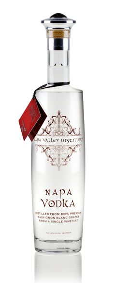 Napa Vodka - Rated TOP 50 Spirits in the World by Wine Enthusiast. Made from a Napa Valley Single Estate Single Vintage Sauvignon Blanc.  To place an order visit www.napadistillery.com