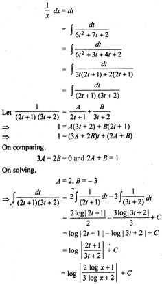 RBSE Solutions for Class 12 Maths Integration Miscellaneous Exercise Class 12 Maths, 12th Maths, Calculus, Algebra, Maths Formulas List, Previous Question Papers, Science Tricks, Job Information, Government Jobs