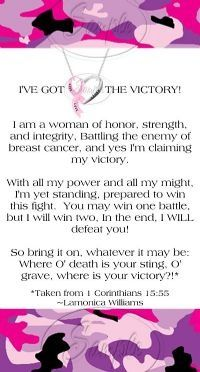 Breast cancer awareness.... This goes out to maddy's mom, my mother in law, and Elvira's mother!!!