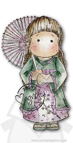 Magnolia Bon Voyage - Chinese Tilda (Asian)