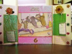 """""""Happy Birthday to a girl who loves dressing up."""" by Diane Morgan on House-Mouse Designs®"""
