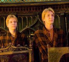 Fred and George Weasley