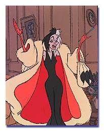 Cruella DeVille!