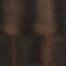 Brown Solid Faux Fur