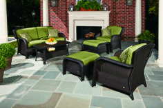 La-Z-Boy Outdoor Griffen seating collection