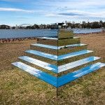 A Ziggurat of Mirrors by Shirin Abedinirad Connects the Sky and Ground in Sydney