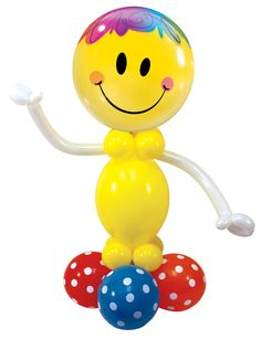 This #yellow Bright #Smile Face #Bubble  #balloon by #Qualatex is simply irresistible. Bring balloons, create smiles!