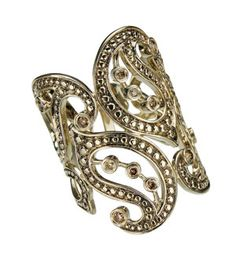 paisley ring from cashmere collection by h. stern.