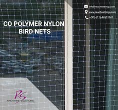 A long-lasting #protection to individuals from the troubling bodies called #birds at your residence.