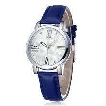a22dd1afd21 Nuevos mujer del reloj para mujer vestido relojes de pulsera de cuero marca  moda Casual reloj