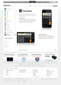 Apple - iPhone - Features - Calculator (11.06.2008)