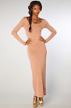 Thank god for this! The Chelsea Dress in Heather Lavendar by Lucca Couture @karmaloop