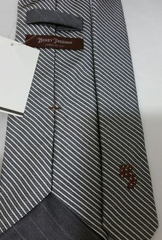 Hickey Freeman American Sartorial Premium Chic&Gorgeous Tie (Made in…