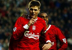 Stevie through the years: 2003 - Liverpool FC