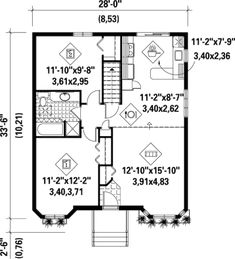 Traditional House Plan with Virtual Tour - 80013PM   1st Floor Master Suite, CAD Available, Canadian, Metric, Narrow Lot, PDF, Photo Gallery, Traditional   Architectural Designs