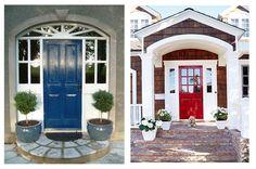 Gorgeous front doors.