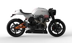This is the version 2 of Bottpower's cafe racer.