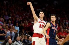 Sam Dekker knocked down five three-pointers in the second half Saturday as Wisconsin bested Arizona, 85-78, to advance to a second-consecutive Final Four appearance.