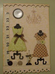 Dress Up Framelits - Stampin Up card using Dress Up framelits