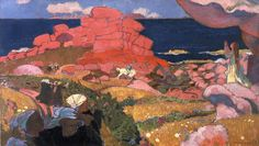 [Quizz] Qui se cache au cœur de ce paysage de Bretagne peint par Maurice Denis en 1910 ?
