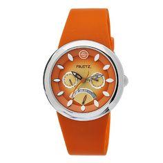 Philip Stein Women's F43S-TS-O Quartz Stainless Steel Orange Dial Watch Fruitz by Philip Stein http://smile.amazon.com/dp/B004ETXA28/ref=cm_sw_r_pi_dp_tNAoub0D2D98V