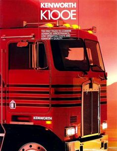 Kenworth K100E Ad